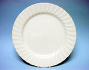 Catering hire china plate